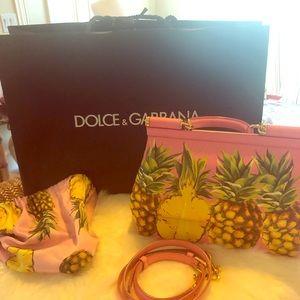 Dolce&Gabbana medium pineapple bag.